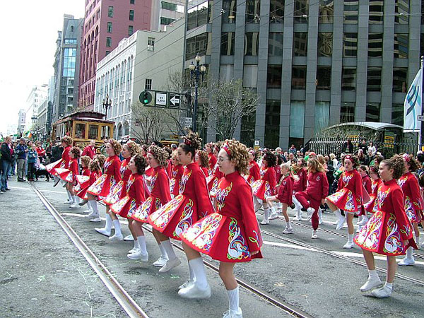 St. Patrick's Day Parade - San Francisco