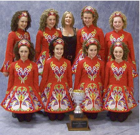 8-hand Figures Dance Trophy Winners